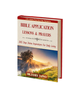 Bible Application Lessons & Prayers -eBook